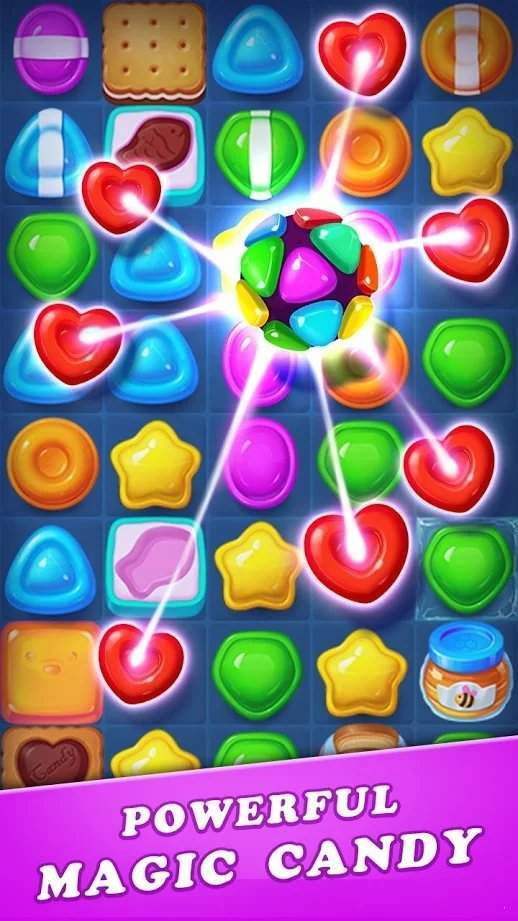 糖果炸弹粉碎红包版图3