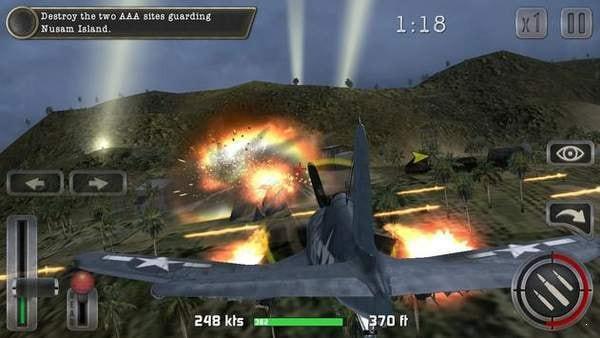 二战太平洋的飞机驾驶模拟器图1