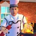 高档烹饪食品餐厅