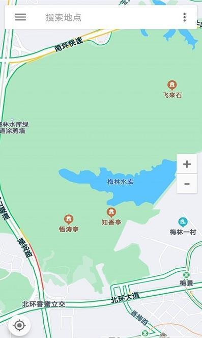 百斗卫星互动地图图1