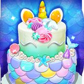 美人魚公主蛋糕