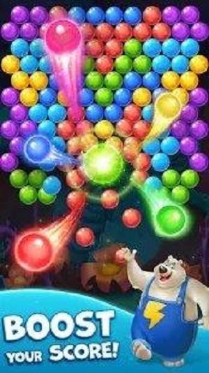 泡泡爆炸射击图1