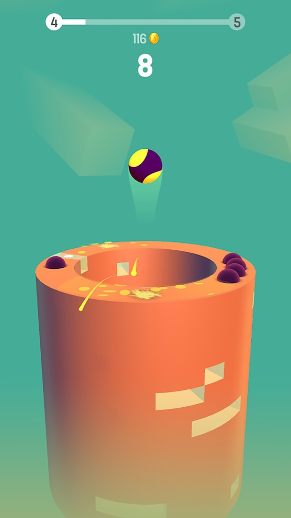 跳动球球界面图