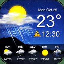 堅果天氣預報
